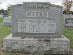 "Almeda Jane ""Allie"" <I>Yohe</I> Hykes"