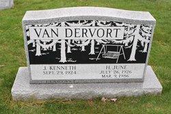 H June Van Dervort