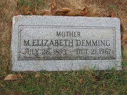 Mary Elizabeth <I>Ford</I> Demming
