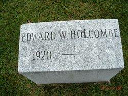 Edward W Holcombe