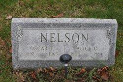 Oscar F Nelson