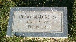 Henry Malone, Sr