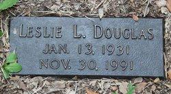 Leslie L Douglas