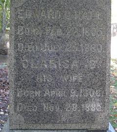 Clarisa B <I>Burnham</I> Hall