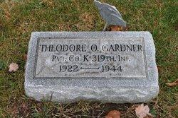 Theodore O Gardner