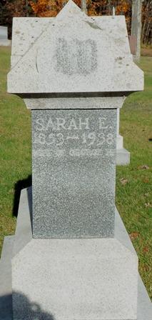 Sarah E. <I>Lewis</I> Worster