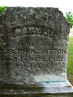 Mary Jane <I>Lazell</I> Sutton