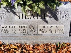 Ruby M Heath