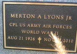 Corp Merton A Lyons