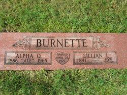 Lillian I Burnette