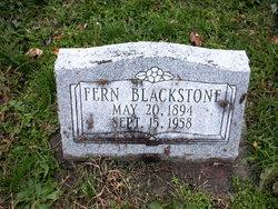 Mable Fern <I>Bryant</I> Blackstone