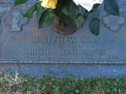 Matthew Ray Driver