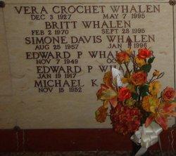 Vera <I>Crochet</I> Whalen