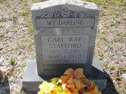 Carl Ray Stafford