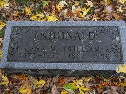 William R McDonald