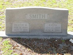 Hester M Smith