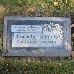 """Cornelia """"Cora"""" <I>Versluis</I> Walton"""