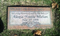 Alexia Yvette Mahan