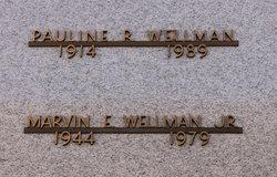 Pauline R Wellman