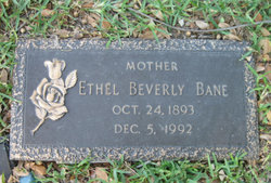 Ethel Beverly Bane