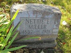 Nettie E Miller