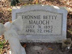 Fronnie Betty Maloch