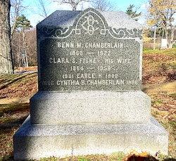 Clara S <I>Fiske</I> Chamberlain