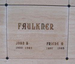 Frieda M Faulkner