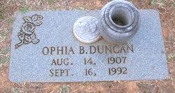 Ophia <I>Boley</I> Duncan