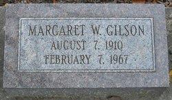 Margaret W. Gilson