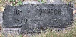 Ida Anna <I>Hildebrand</I> Johnson