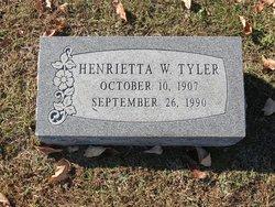 Henrietta W. Tyler
