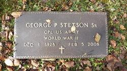 George P Stetson, Sr