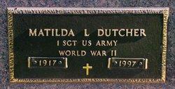 Matilda L. Dutcher