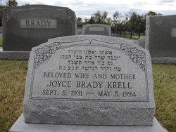 Joyce <I>Brady</I> Krell