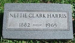 Nettie <I>Clem</I> Harris