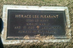 Horace Lee Pleasant