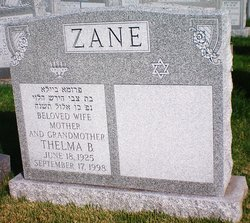 Thelma B. Zane