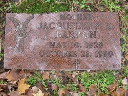 Jacqueline <I>King</I> Barron