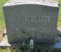 Mary <I>Dellot</I> Martin