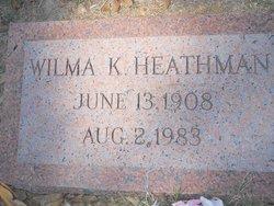 Wilma K Heathman