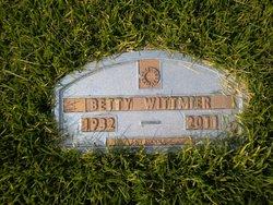 Betty <I>Heckart</I> Wittmier