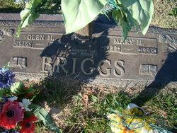 Mary M. <I>Leonard</I> Briggs