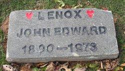 John Edward Lenox