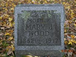Mary J <I>Barlow</I> Wood