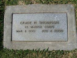 Grady H Thompson