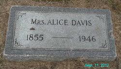 Mrs Alice Davis