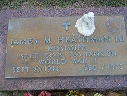 James M Heathman, III