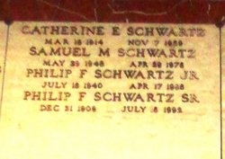 Philip F. Schwartz, Jr