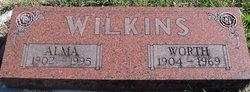 Alma Irene <I>Little</I> Wilkins